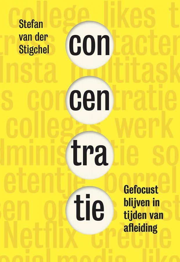 Boek Concentratie van Stefan van der Stigchel.